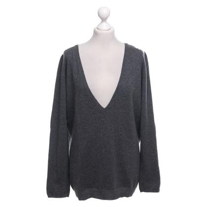 Brunello Cucinelli Cashmere sweater in grey-Meliert