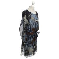 Gucci Seidenkleid mit Muster