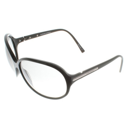 Costume National Sonnenbrille in Schwarz