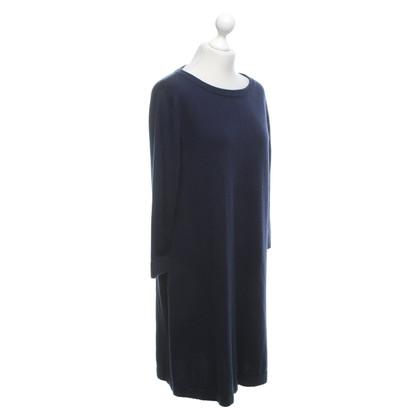 Allude Knit dress in dark blue
