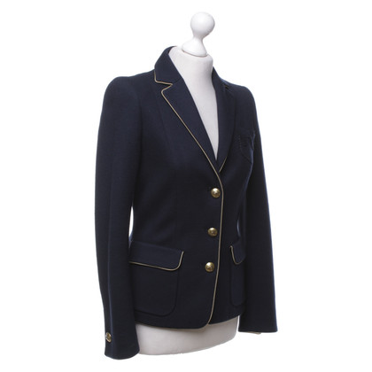 Rena Lange Sporty blazer in navy blue