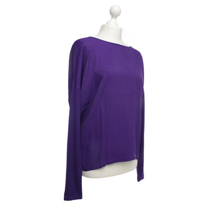 Laurèl Long arm top in purple