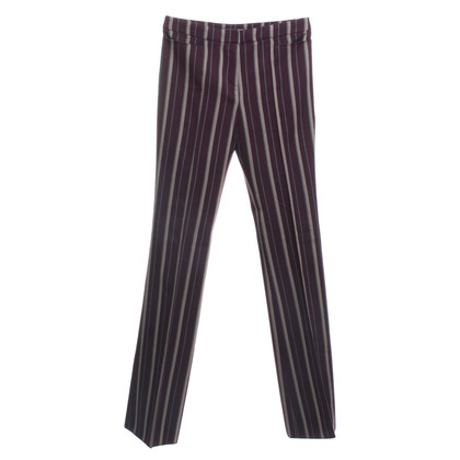 Alexander McQueen trousers with stiffening pattern