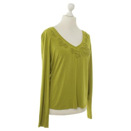 Escada Lange mouwen shirt in groen