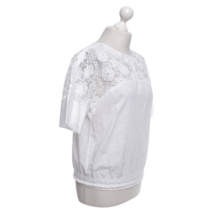 See by Chloé Blouse in white