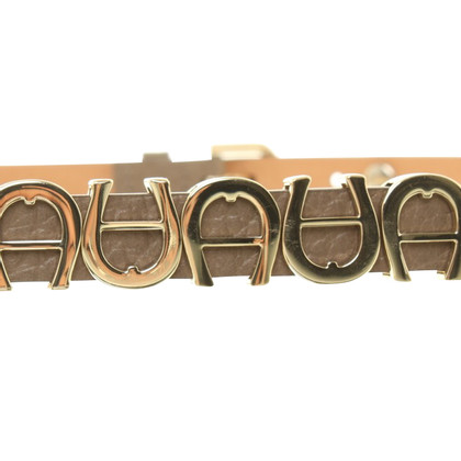 Aigner Belt in taupe