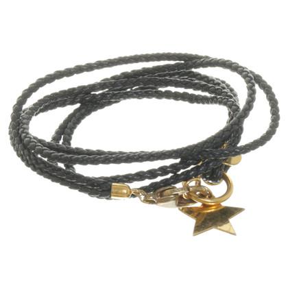 Marjana von Berlepsch Wikkel armband in zwart