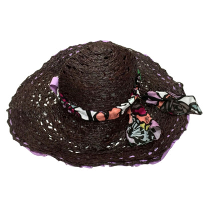 Blumarine Brown Hat