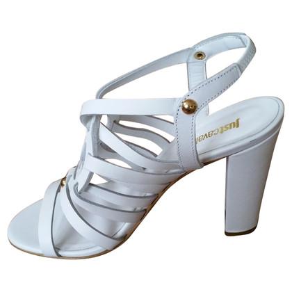 Just Cavalli Alti sandali bianchi