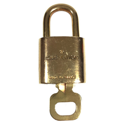 Louis Vuitton lock with key
