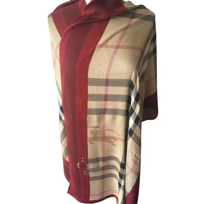Burberry Burberry sjaal met cashmere