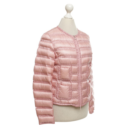 Moncler Down jacket in pink
