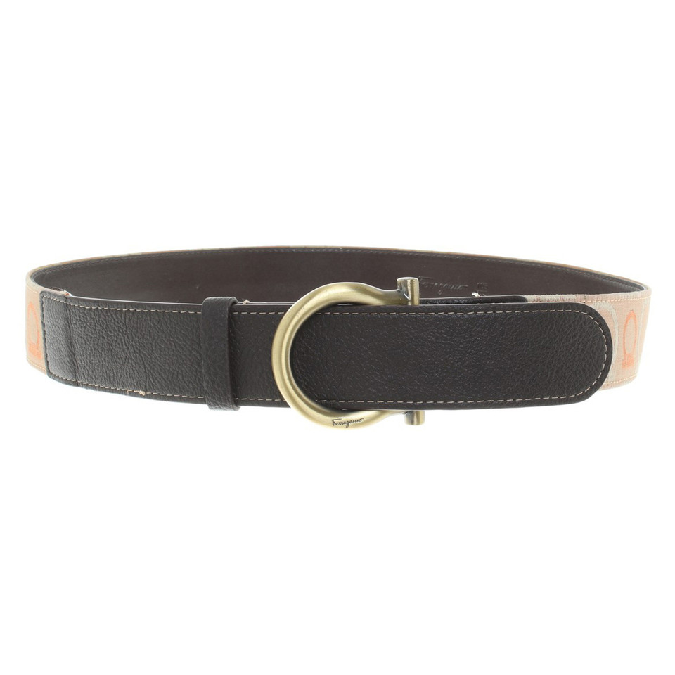 Salvatore Ferragamo Belt with decorative embroidery
