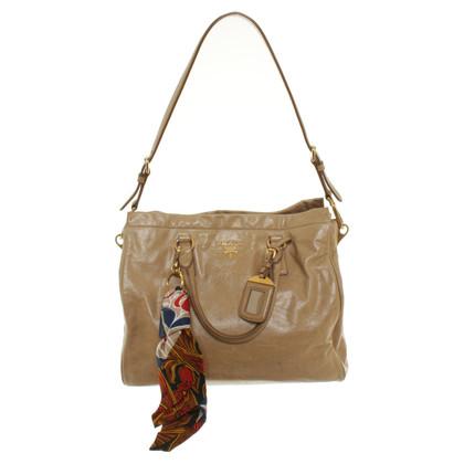Prada Handbag with scarf pendant