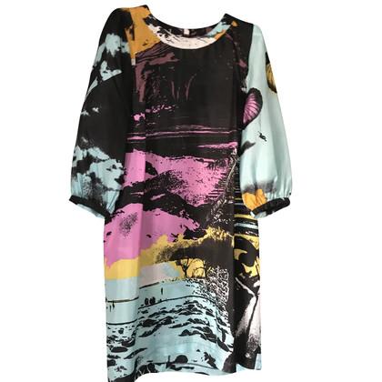 See by Chloé Abito in seta multicolore