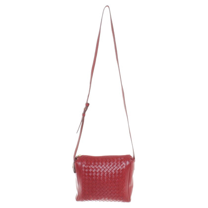Bottega Veneta Bag in Red