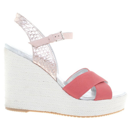 Hogan Wedges in Rosa/Metallic