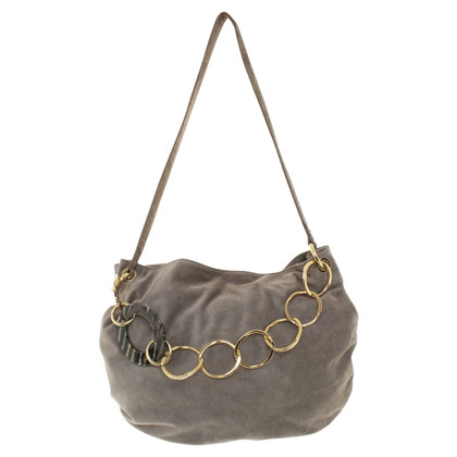 Other Designer Almala - Shoulder bag made of suede