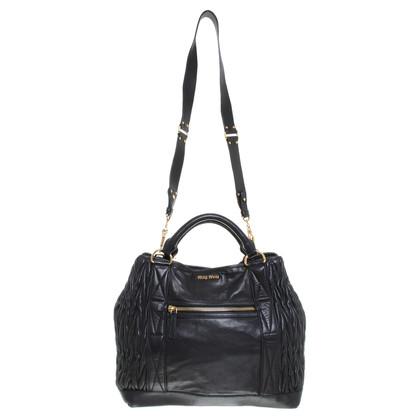Miu Miu Shopper in black
