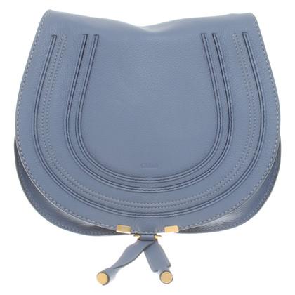 """Chloé """"Marcie Small Spalla Bag"""" in blu"""