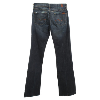 7 For All Mankind Jeans dans le bleu