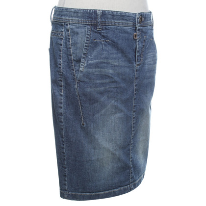 Marc Cain Jeansrock im Used-Look
