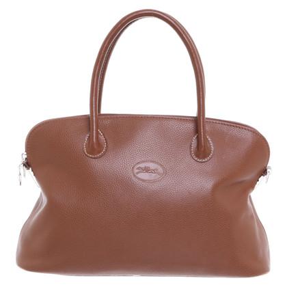 Longchamp Leren handtas