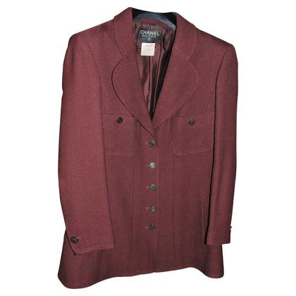 Chanel Jacket in Bordeaux