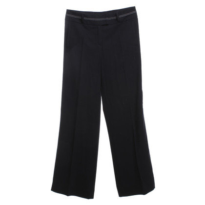 Escada Pantalone in blu scuro