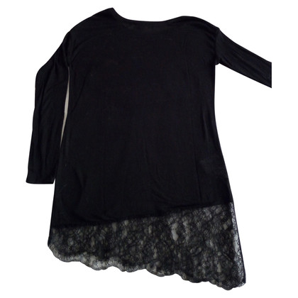 BCBG Max Azria T-shirt with lace border