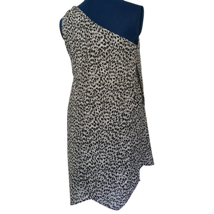 Michael Kors One-shoulder dress with pattern