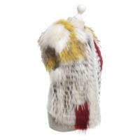 BCBG Max Azria Bont vest in crème / Multicolor