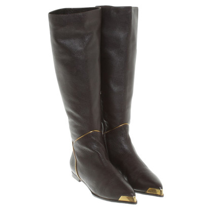 Baldinini Leather boots in brown