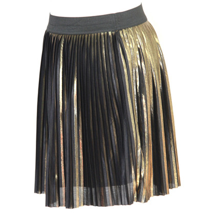 Topshop skirt in gold