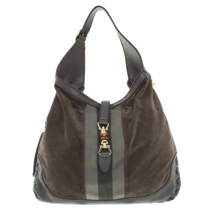Gucci Handtasche in Taupe