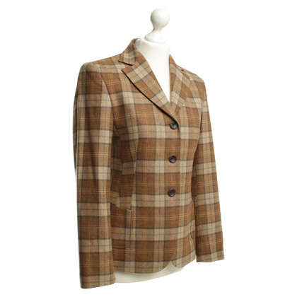 Windsor Blazer in lana con motivo check