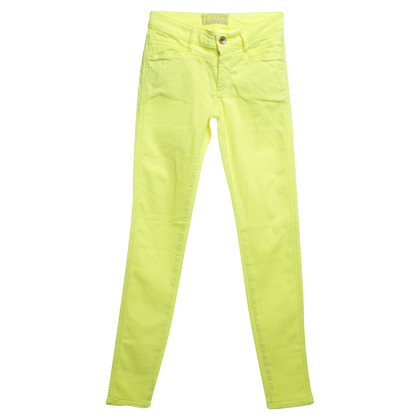 Closed Jeans in neon giallo