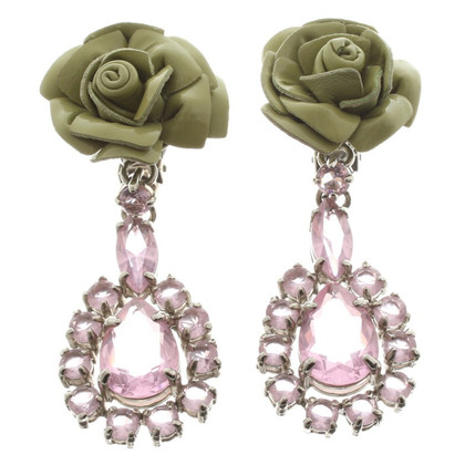 Prada Earrings with gemstones