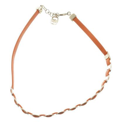 Salvatore Ferragamo Wrap bracelet in orange