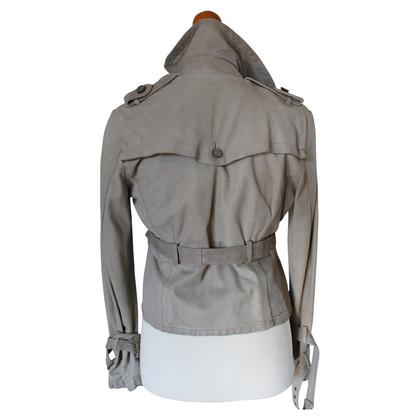 Giorgio Brato Leather Jacket Cream 38
