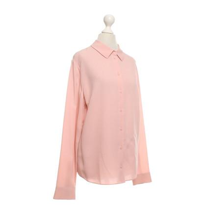 Iris von Arnim Silk blouse in pink