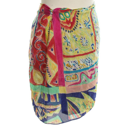 Ralph Lauren Wrap-around skirt with pattern print