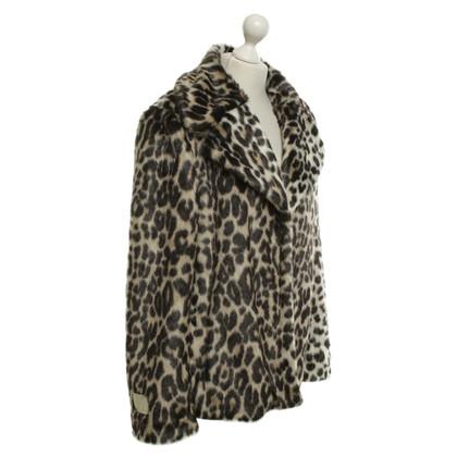 Stella McCartney Jacket of woven fur
