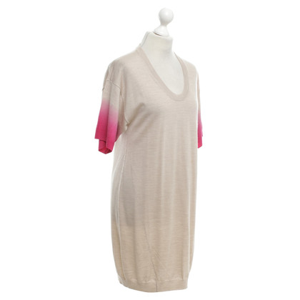 Escada Knitted dress in bicolour
