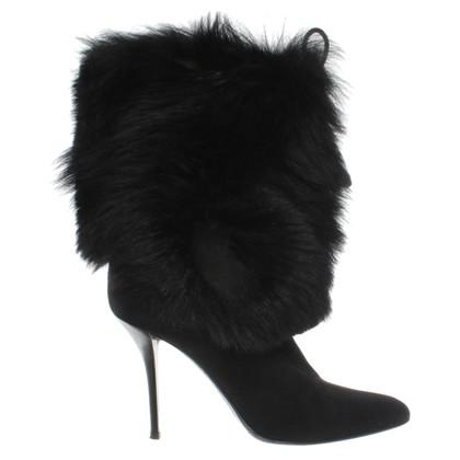 Helmut Lang Bont laarzen op zwart