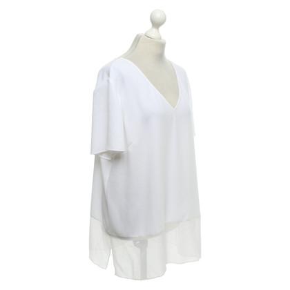 St. John top in white
