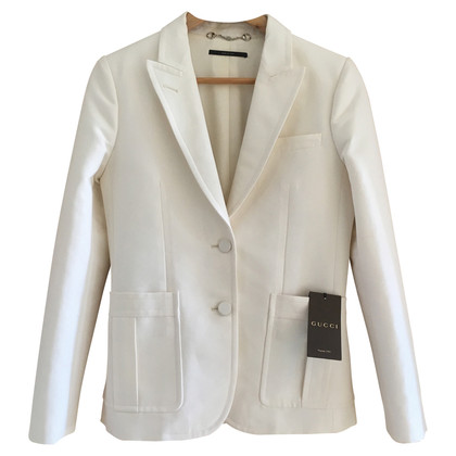 Gucci White cotton jacket