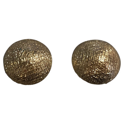 Christian Dior Round ear clips