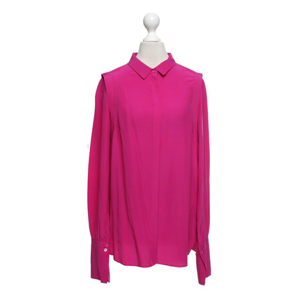 Dorothee Schumacher Zijden blouse in fuchsia