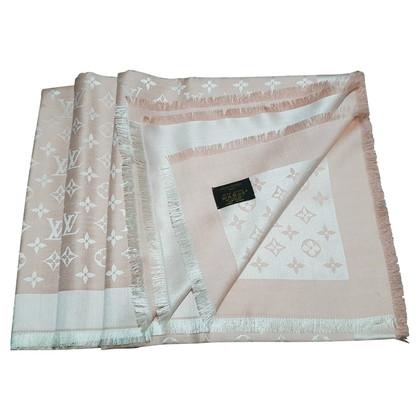 Louis Vuitton Monogram Denim Tissu en Rosé